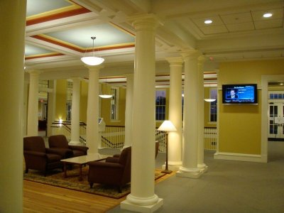 UVA's new Rouss Hall