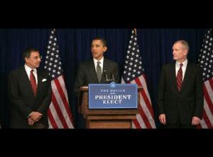 Panetta, Obama, Blair