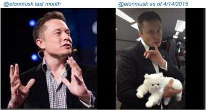 twitter photos, Elon v Elon