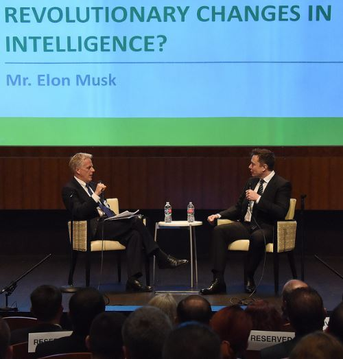 NGA Photo: Lewis Shepherd, Elon Musk 2015